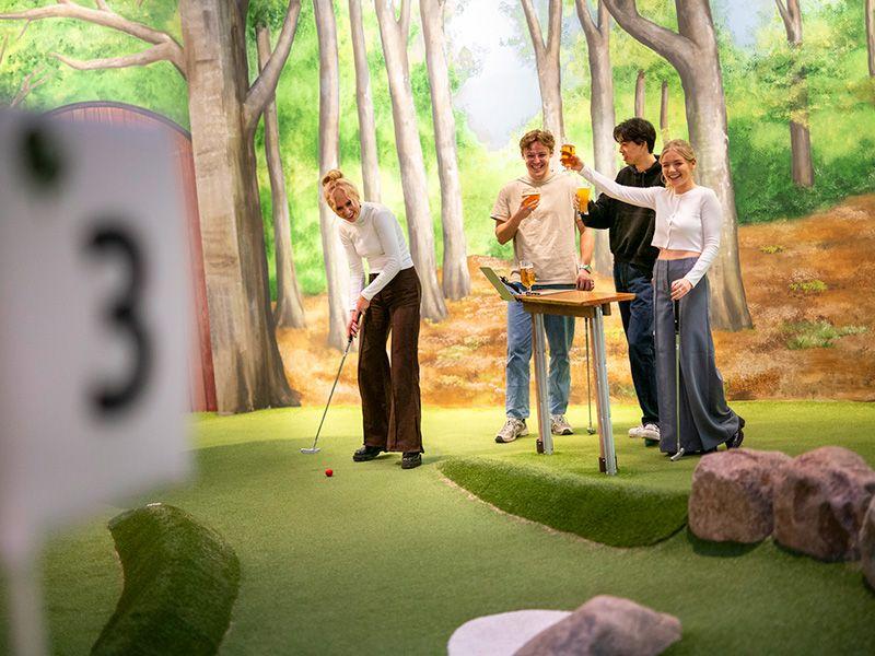 Adventure golf i Golfskoven Aarhus